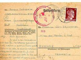 C 20 1944 Lentier Allemand Pour Ou Un STO En ALLEMAGNE - WW II