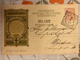 Italia Regno Intero Postale 3 Cartoline FDC Esposizioni Riunite Postale - Interi Postali