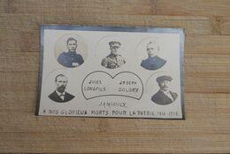 Wo1 1914 1915 Carte Foto Jamioulx Morts Pour La Patrie - Religion & Esotericism