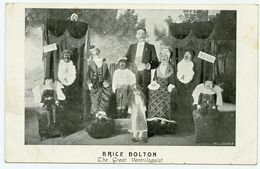 Le Grand Ventriloque Brice Bolton Et Ses Marionnettes. Illusionnisme. - Artistes