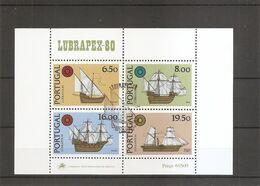 Portugal ( BF 32 Oblitéré) - Blocks & Sheetlets
