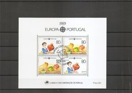 Portugal ( BF 65 Oblitéré) - Blocks & Kleinbögen
