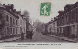 Pont Saint Pierre, Quartier Saint Pierre, Rue De La Gare - France