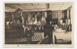 PAQUEBOT ILE DE FRANCE - N° 153 - LE SALON MIXTE - CPA NON VOYAGEE - 75 - Paquebots