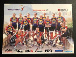 Bankgiroloterij - Batavus - Teamcard 2001 - Carte / Card - Cyclists - Cyclisme - Ciclismo -wielrennen - Cycling