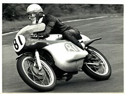 BRANDS HATCH DEREK WOODMAN  21*16cm Motocross Course De Motos MOTORCYCLE - Coches