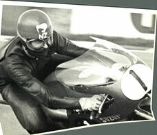 SUZUKI BRANDS HATCH H ANDERSON 125CC WORKS  21*16cm Motocross Course De Motos MOTORCYCLE - Coches
