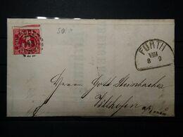 Bayern Mi-Nr.10 Auf Brief München - Briefe U. Dokumente