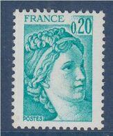 Sabine De Gandon Neuf N°1967a Phosphore à Gauche - 1977-81 Sabine De Gandon