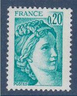 Sabine De Gandon Neuf N°1967b Gomme Tropicale - 1977-81 Sabine De Gandon