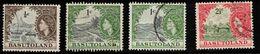 BASUTOLAND Scott # 72, 73, 75 Used - QEII & Various Scenes - 1933-1964 Colonia Britannica