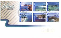 (K 22) Australia - FDC - Premier Jour - Islands Jewels - 2007 (International Stamps) - Sobre Primer Día (FDC)