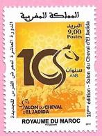 Maroc / Morocco 2017 - Salon Du Cheval D'el Jadida - Y&T 1750** - Neuf** MNH - Marocco (1956-...)