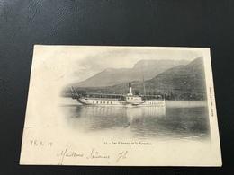 13 - Lac D'Annecy Et Le Parmelan - 1903 Timbrée - Annecy