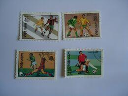 VIETNAM  SET 4  FOOTBALL SOCCER WORLD CUP - Coupe Du Monde