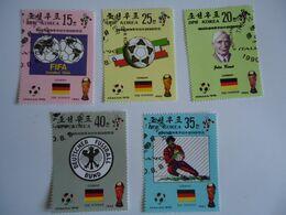 KOREA SET 5 FOOTBALL SOCCER WORLD CUP - Coupe Du Monde