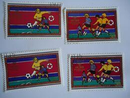 KOREA SET 4 FOOTBALL SOCCER WORLD CUP - Coupe Du Monde