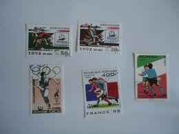 KOREA  NICARAGUA  TOGO LOT 5 FOOTBALL SOCCER WORLD CUP - Coupe Du Monde