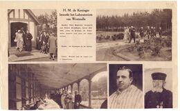 Orig. Knipsel Coupure Tijdschrift Magazine - Westmalle - Bezoek Koningin Aan Het Sanoratorium  - 1931 - Zonder Classificatie