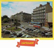 CPSM DIJON 21  ♥♥☺♣♣ Place Darcy ֎ Voitures Bus Solex Vélo  ♦♦☺♣♣ - Dijon