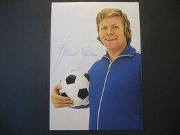 Deutschland- Werbe-Autogrammkarte Helmut Haller - Covers & Documents
