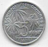 Archipel Des Comores - 5 Fr  1964 - Comorre