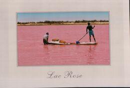 9040   SENEGAL  LAC ROSE??   ECRITE - Ansichtskarten