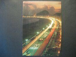 Brasilien- AK Rio De Janeiro Mit Der Weltberühmten Copacabana - Copacabana