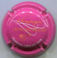 CAPSULE-CHAMPAGNE ARNOULT RUELLE N°04k Rose Foncé, Trannes Blanc - Champagne