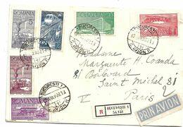 Rum021 / RUMÄNIEN - 70JjAHRE RUMÄNISCHE  Eisenbahn 1939 (nach Paris) - 1918-1948 Ferdinand, Charles II & Michael