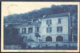 RD184 VALLE VEDASCA , CASA COMUNALE DI CADERO CON GRAGLIO - Other Cities