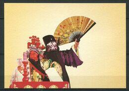 CPM (3) - FORMOSE - Costume Masque Eventail Heros Chinois Historique - Formosa