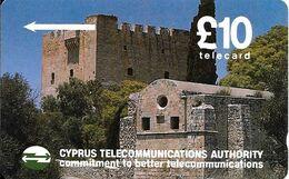 CARTE-MAGNETIQUE-CHYPRE-10£-CHATEAU DONJON-TBE/RARE - Cyprus