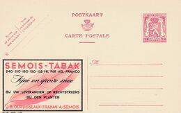Carte Entier Postal Publibels 775 Semois Tabak - Enteros Postales