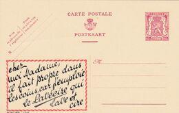 Carte Entier Postal Publibels 758 Le Lavéeire Qui Lave Et Cire - Enteros Postales