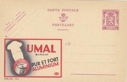 Carte Entier Postal Publibels 744 Umal Burcht Pur Et Fort Aluminium - Enteros Postales