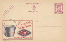Carte Entier Postal Publibels 751 Travail Mécanique De La Tôle Seau - Enteros Postales
