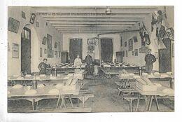 90 - BELFORT - 42ème Régiment D' Infanterie. Réfectoire. Personnages - Belfort - Stadt