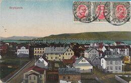 OLD POSTCARD - ISLANDA - ISLAND - REYKJAVIK - VIAGGIATA  07.12.1920 - P8 - Iceland