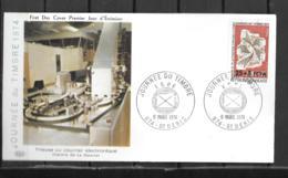 1974 - 9 - 422 - Journée Du Timbre - Storia Postale