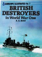 """""""British Destroyers In World War One"""" - Barcos"""