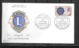 1967 - 3 - 375 - Lions International - Storia Postale