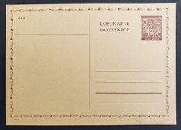 Böhmen Und Mähren 1940, Postkarte P7 Ungebraucht - Briefe U. Dokumente