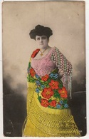 F89) España Costumbre Tarjeta Bordada Costume Riche Brodé Richly Embroided  Cloths Spanish Spain - Altri