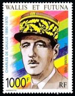WALLIS ET FUTUNA 1990 - Yv. PA 169 **   Faciale= 8,38 EUR - Général Charles De Gaulle  ..Réf.W&F23010 - Unused Stamps