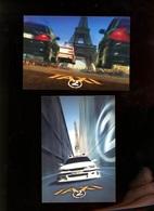 Film Cinéma Movies 2 Cp Taxi 2 Cool Card Taiwan - Afiches En Tarjetas