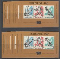 Belgie 1962 Europol Blok 100x ** Mnh (49626) - Erinofilia