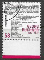 BRD 2013  Mi.Nr. 3031 , 200. Geburtstag Von Georg Büchner - Gestempelt / Fine Used / (o) - Gebraucht