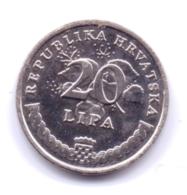 HRVATSKA 2019: 20 Lipa, KM 7 - Croazia
