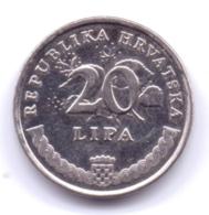 HRVATSKA 2015: 20 Lipa, KM 7 - Croazia